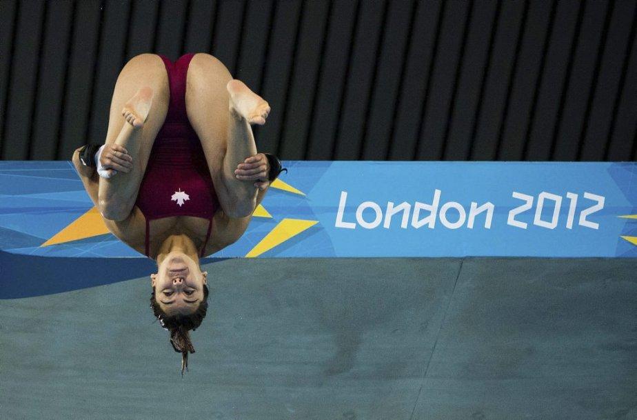 La plongeuse québécoise Meaghan Benfeito a terminé au 11e rang. | 9 août 2012