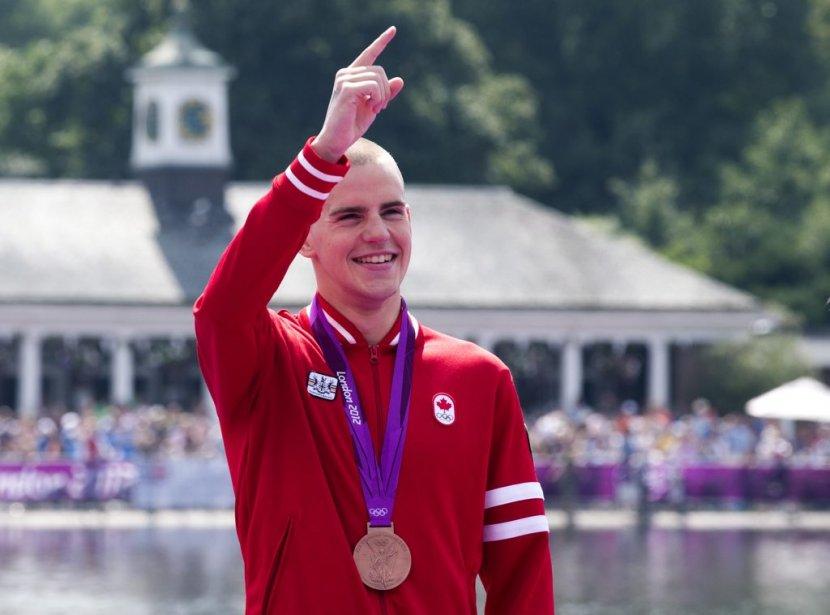 Le nageur canadien Richard Weinberger a décroché la médaille de... | 2012-08-10 00:00:00.000