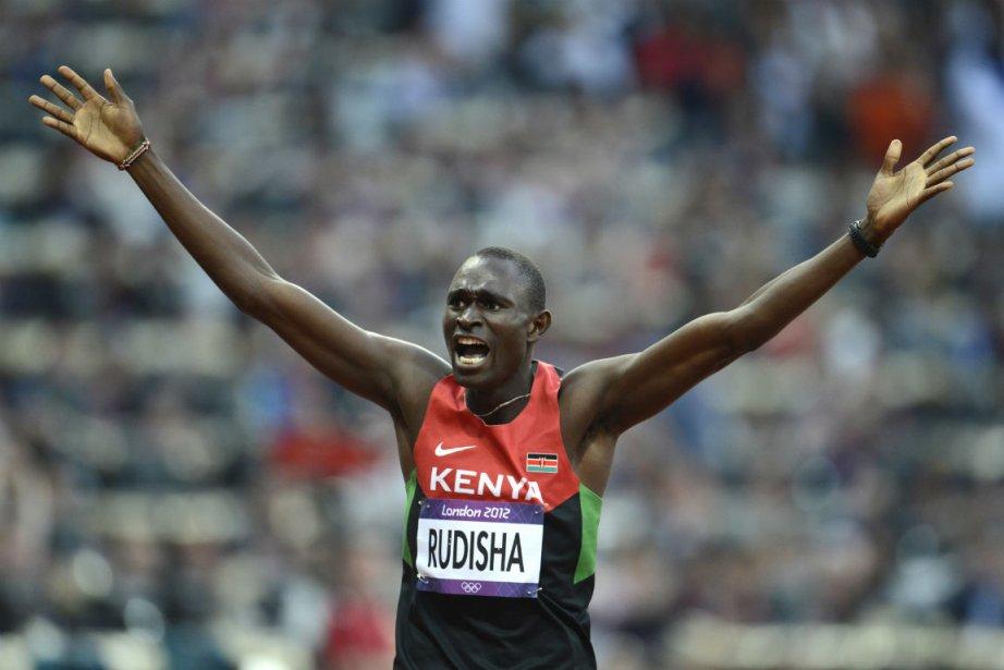Le Kényan David Rudisha revendique une place ... (Photo : Bernard Brault, La Presse)