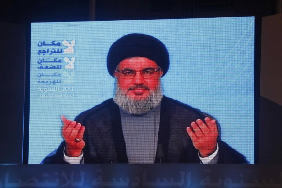 Le cheikh Hassan Nasrallah... (PHOTO ARCHIVES REUTERS)