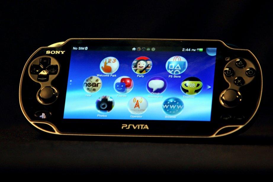 PlayStation PSVita de Sony.... (PHOTO REED SAXON, ASSOCIATED PRESS)