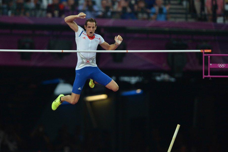 Renaud Lavillenie... (Photo : Johannes Eisele, AFP)