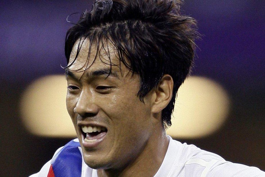 Park Chu-young a marqué le premier but du... (Photo : Jon Super, AP)