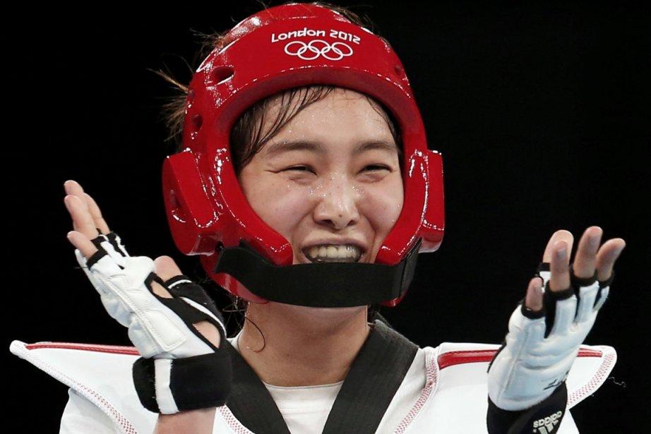 Hwang Kyung-seon avait aussi décroché le bronze lors... (Photo : Kim Kyung-Hoon, Reuters)
