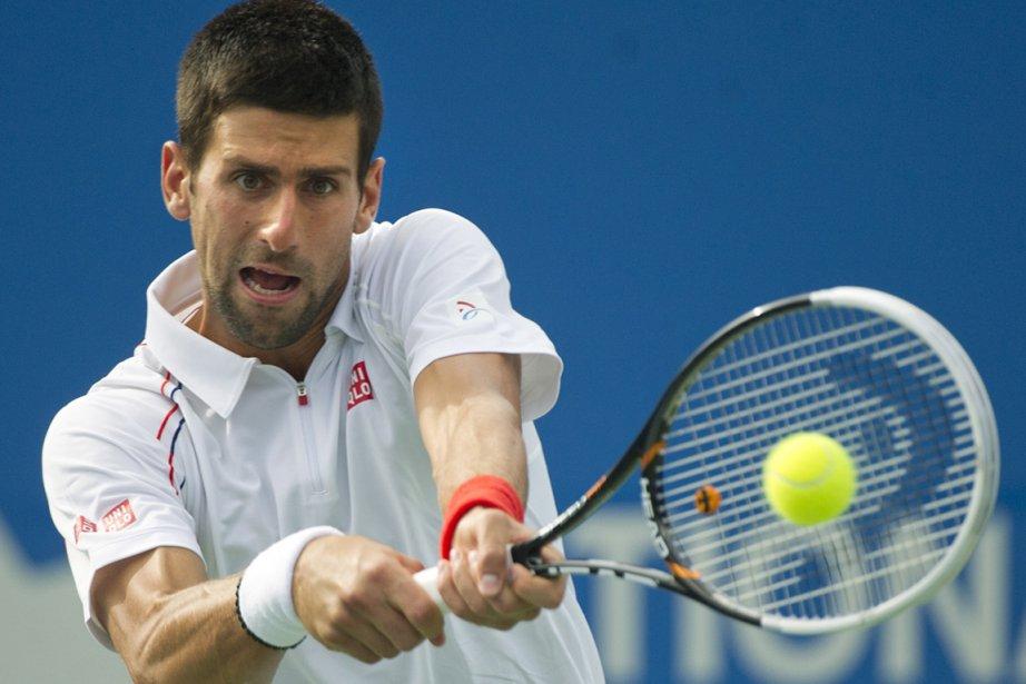 Novak Djokovic... (Photo : Nathan Denette, PC)