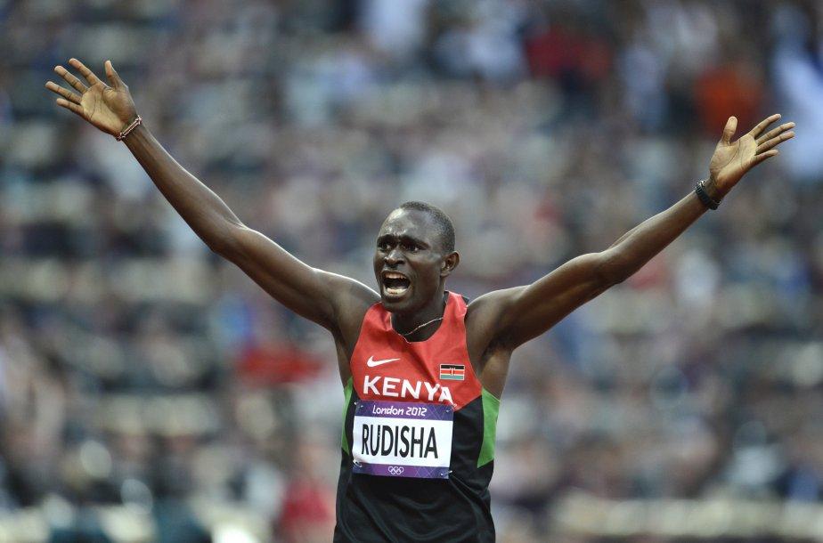 Le Kényan David Rudisha a battu le record du monde... | 2012-08-11 00:00:00.000