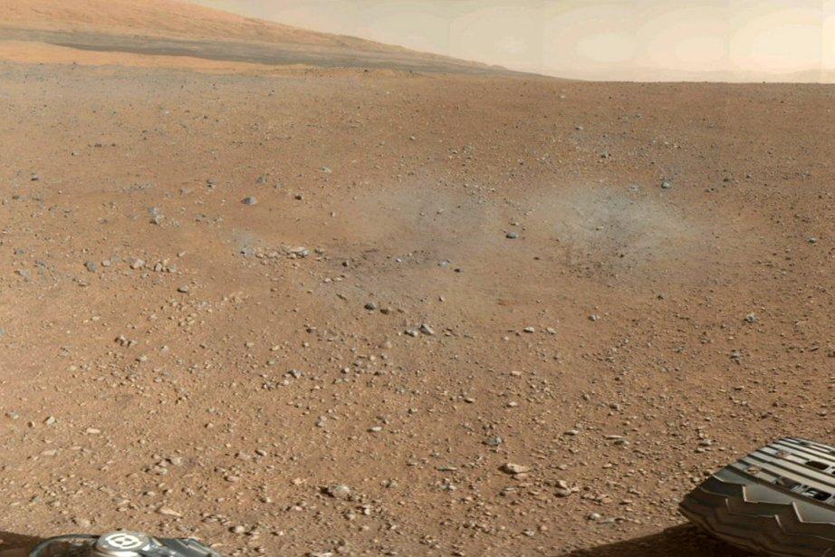 La NASA a publié jeudi cette portion de... (Photo: Reuters)