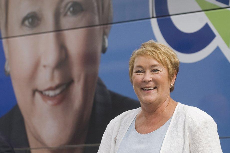 La chef du Parti québécois, Pauline Marois.... (Photo: PC)
