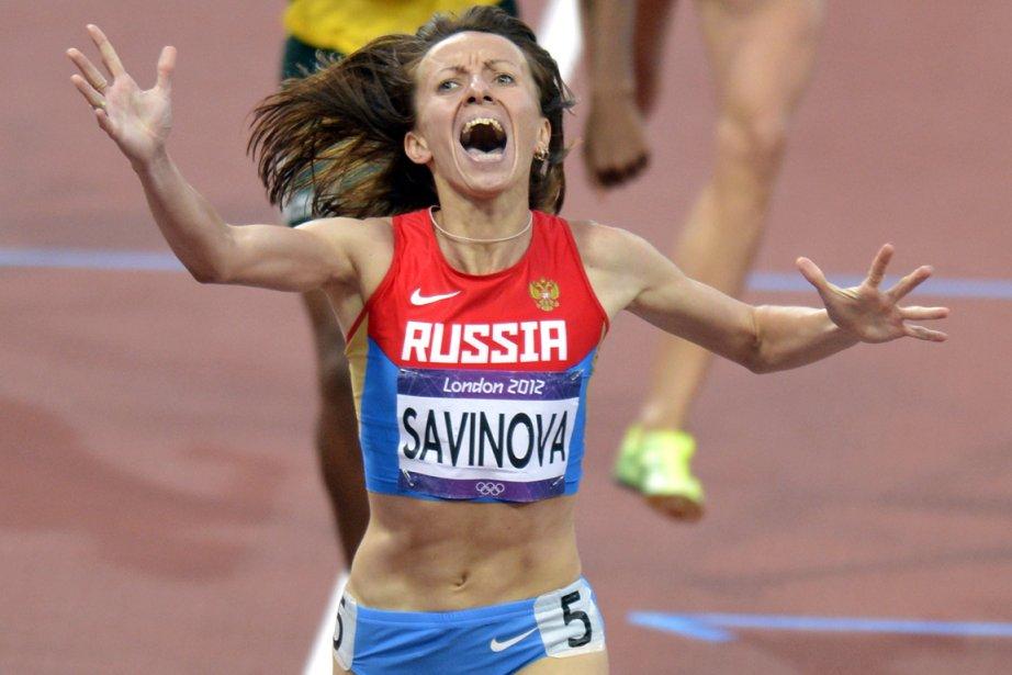 Maria Savinova... (Photo : Bernard Brault, La Presse)