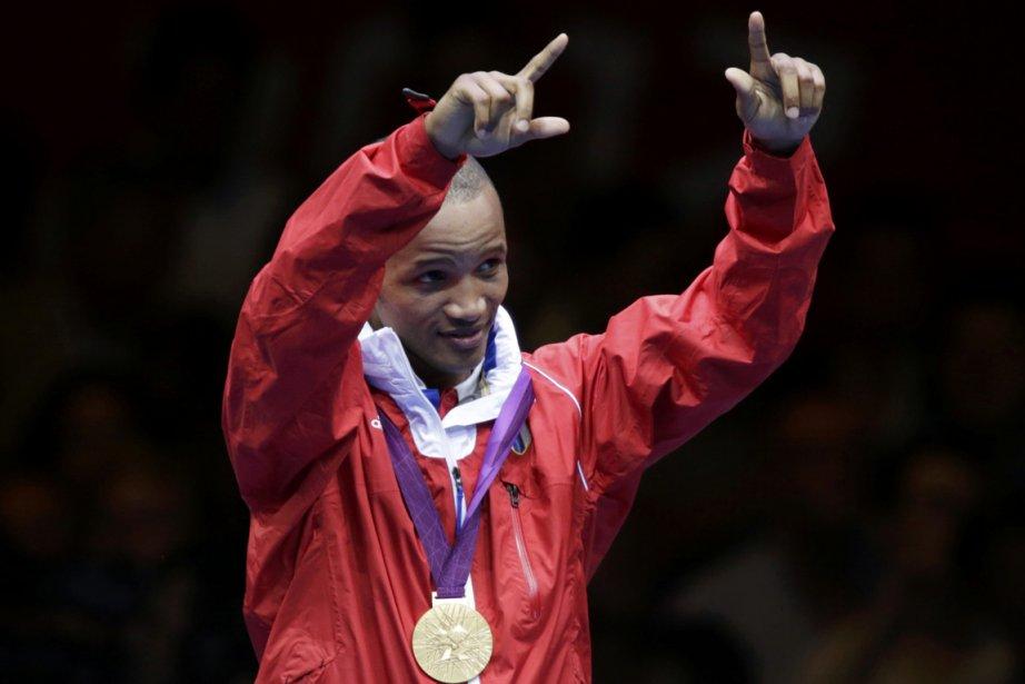 Roniel Igliesias est le premier boxeur de son... (Photo : Toru Hanai, Reuters)