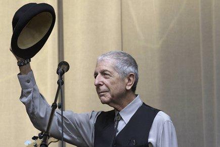 Leonard Cohen sera les 28 et 29 novembre... (Photo: AFP)