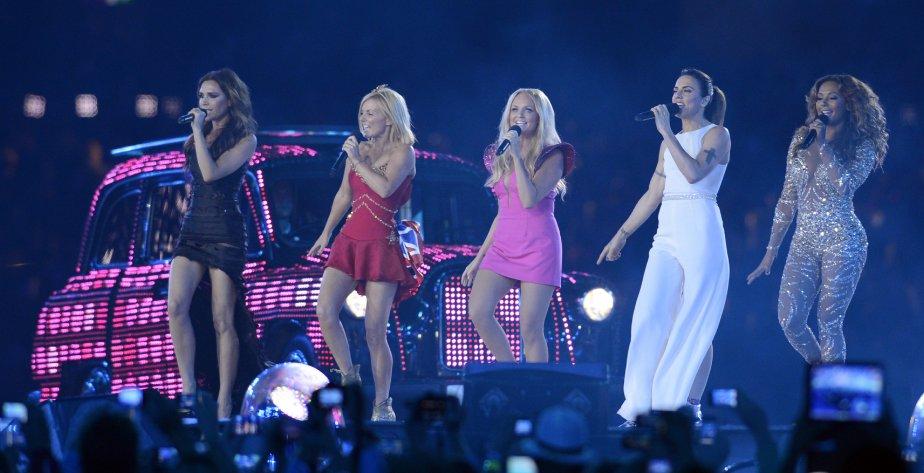 Les Spice Girls se sont réunies pour la première fois depuis 2008. | 13 août 2012