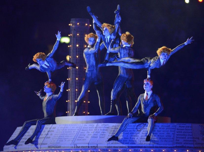 Des acrobates ont fait des pieds et des mains pour épater le public. | 13 août 2012
