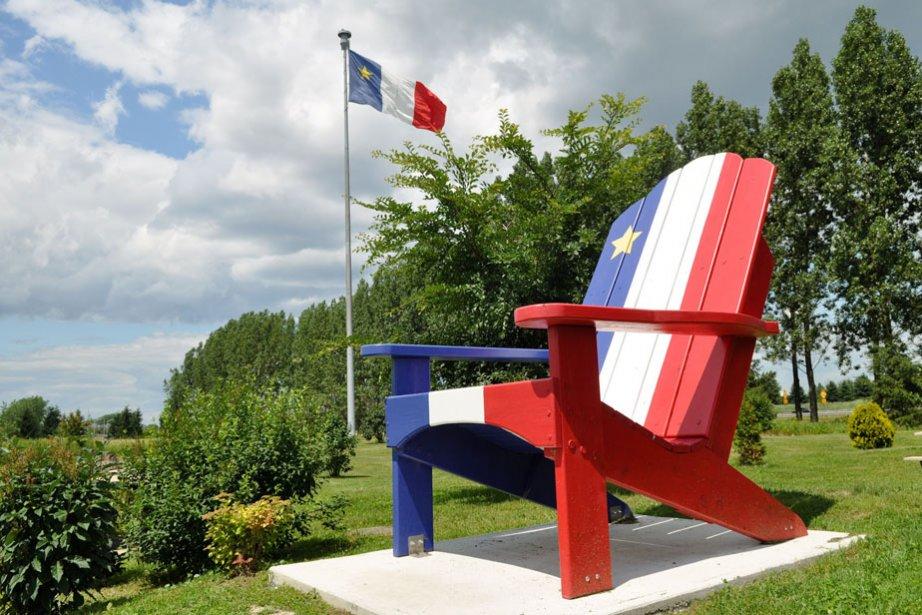 C'est journée de fête pour les Acadiens.... (Photo: Émilie O'Connor)