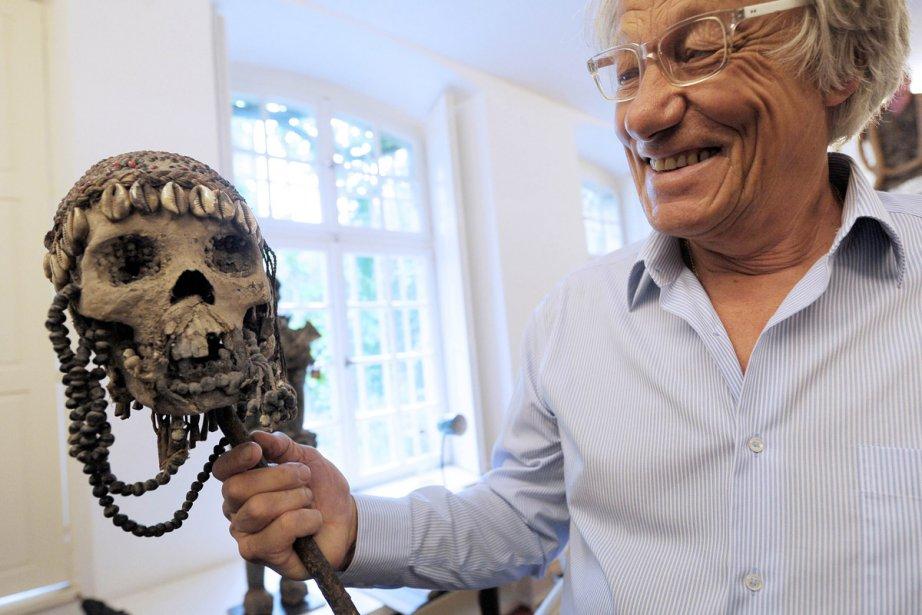 Marc Arbogast, propriétaire d'une exceptionnelle collection  d'objets... (Photo: AFP)