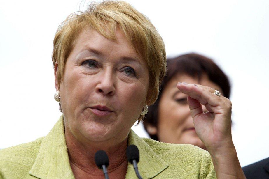 La chef du Parti québécois a affirmé lundi... (Photo: Reuters)