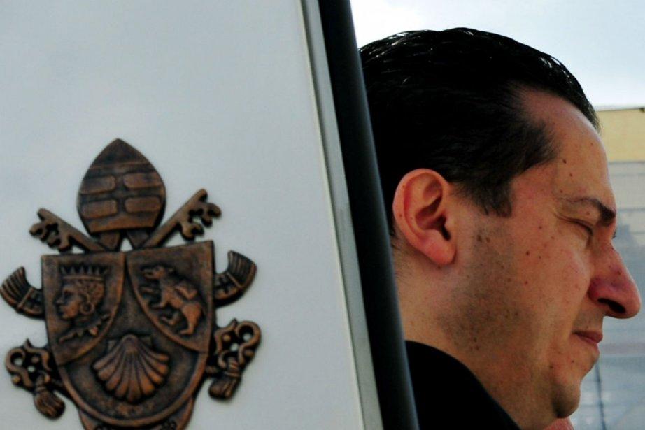 Le majordome du pape,Paolo Gabriele... (Photo Alberto Pizzoli, Agence France-Presse)