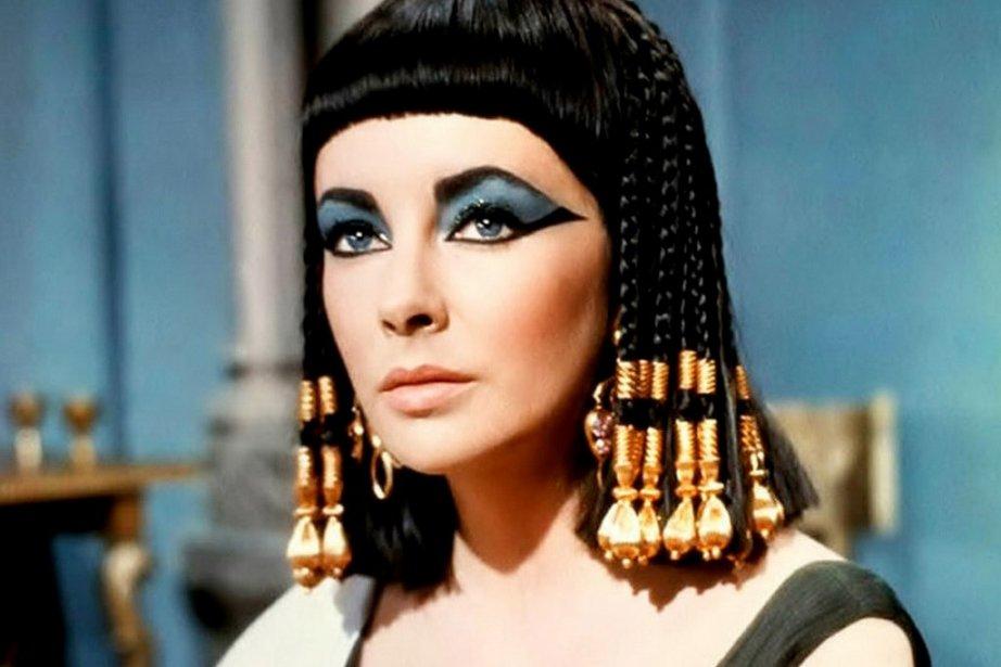 Elizabeth Taylor dans Cleopatra (1963).... (Photo:  archives La Presse)