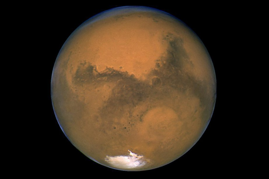 Planète Mars... (PHOTO ASSOCIATED PRESS/NASA)