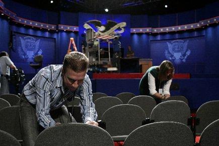 Quatre débats télévisés auront lieu avant l'élection... (Archives Reuters)