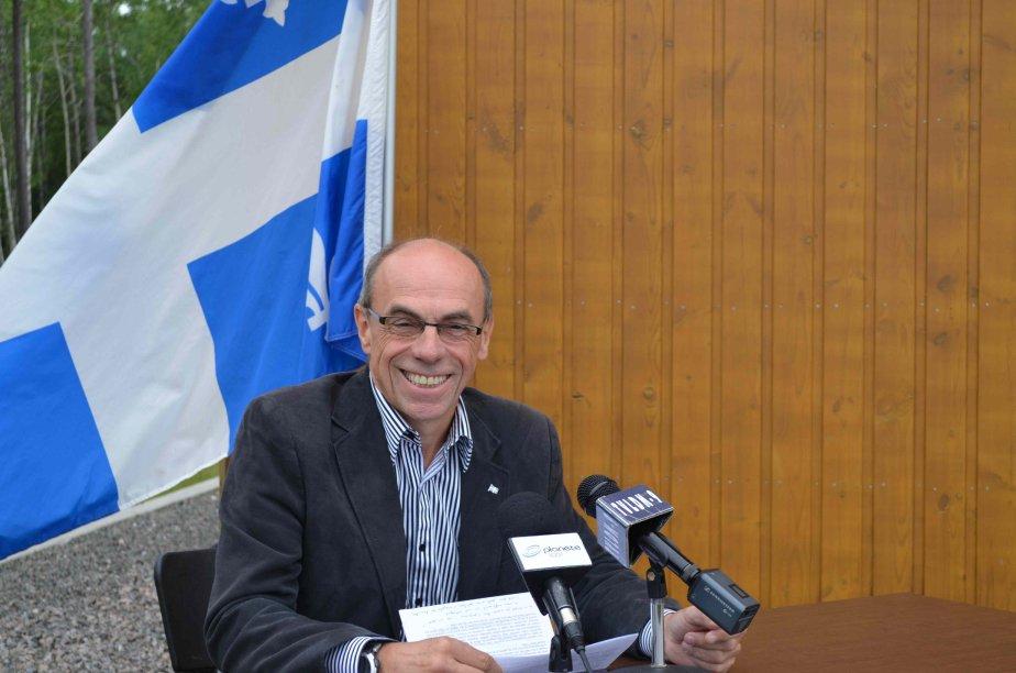 Le candidat du Parti québécois dans Roberval, Denis... (Archives le Quotidien)