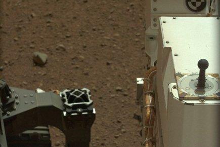 Curiosity, qui s'est posé sur Mars la semaine... (Photo: AFP)