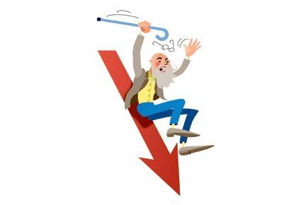 Le déficit actuariel des régimes de retraite des... (Illustration La Presse)