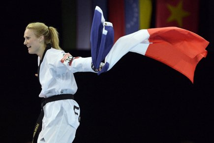 Marlène Harnois... (Photo: AFP)