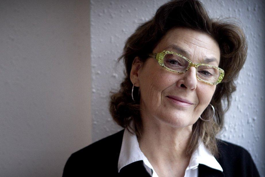 Paule Baillargeon portera les mots d'Annie Ernaux dans... (Photo: Marco Campanozzi, La Presse)
