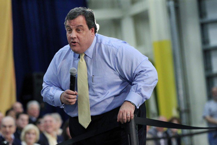 Le gouverneur du New Jersey Chris Christie (ici,... (Photo Mel Evans, AP)