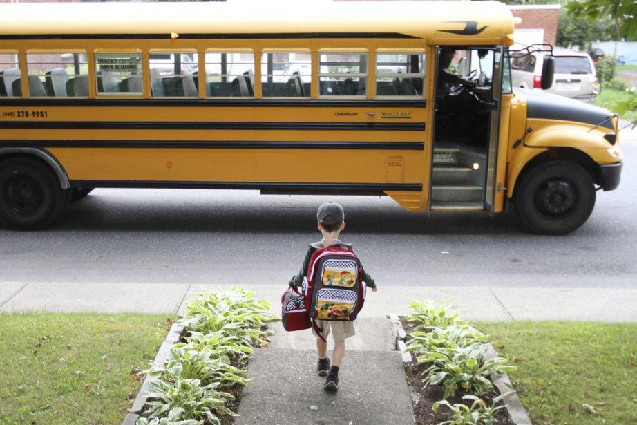Le retour à l'école se vit à plusieurs... (Photo: Stéphane Champagne, collaboration spéciale)