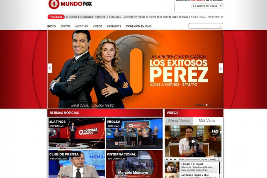 Le réseau de télévision américain Fox... (Photo: tirée du site internet)