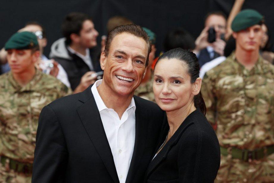 Jean-Claude Van Damme et Gladys Portugues | 14 août 2012
