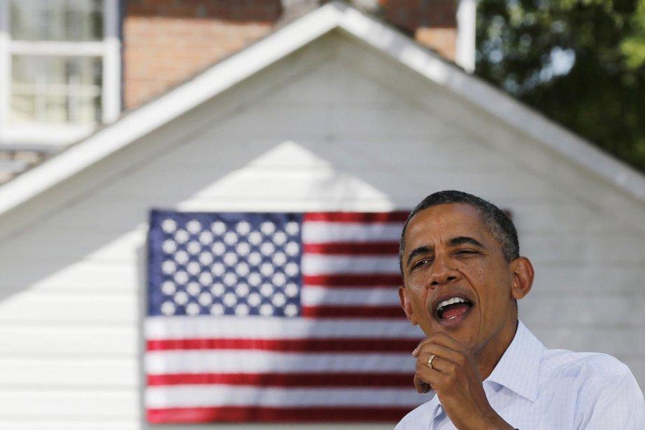 Barack Obama effectue un voyage en bus de... (Photo Larry Downing, Reuters)