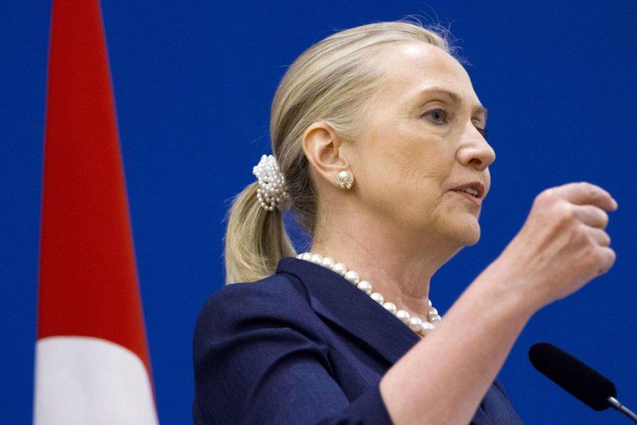 La Secrétaire américaine Hillary Clinton était en Turquie... (Photo Jacquelyn Martin, Reuters)