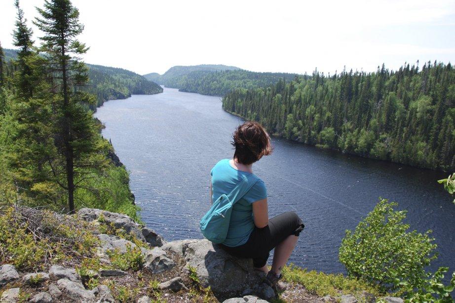 Le lac La Haie est l'une des merveilles... (Photo: Simon Diotte, collaboration spéciale)