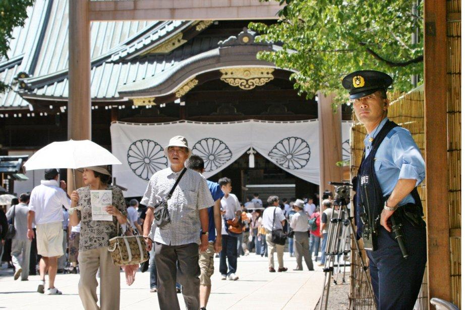 Le sanctuaire shinto de Yasukuni, lieu controversé.... (Photo AFP)