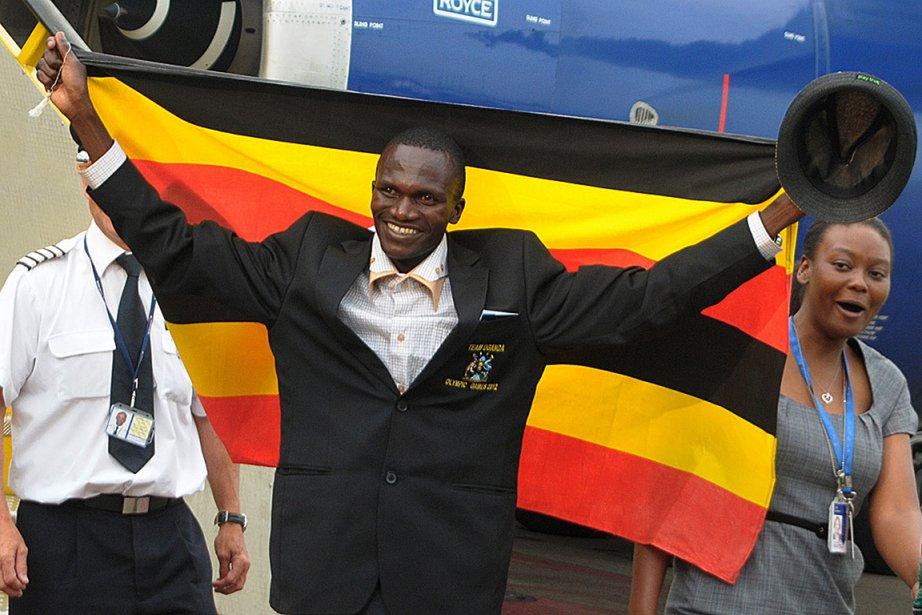 Stephen Kiprotich a donné à l'Ouganda sa première... (Photo : Isaac Kasamani, AFP)