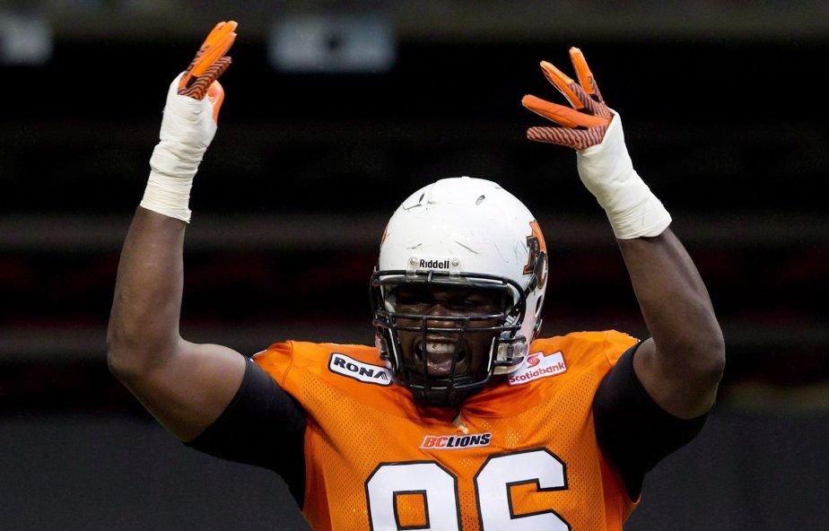 Khalif Mitchell... (Photo La Presse Canadienne)