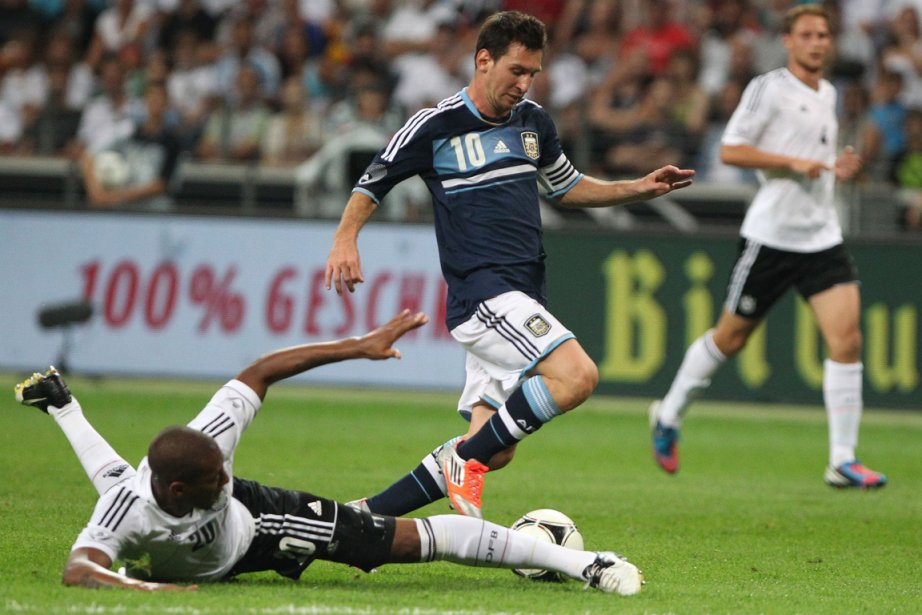 Messi a contribué à la victoire des siens... (Photo AFP)