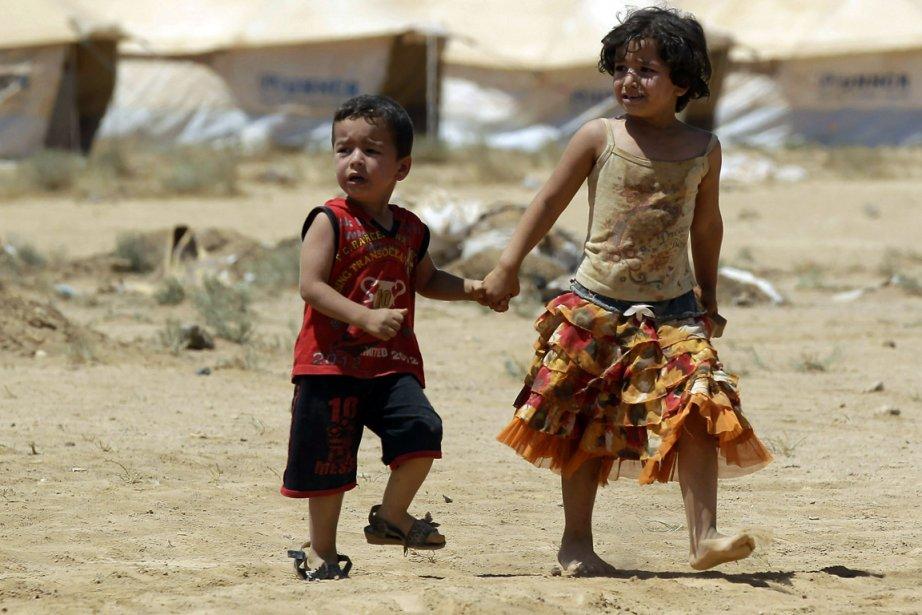 Le camp de réfugiés de Zaatari.... (Photo: AFP)