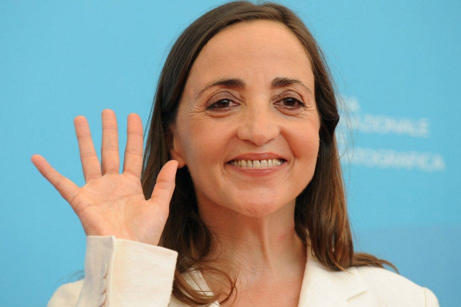Dominique Blanc lors de sa participation à la... (Photo: archives AFP)