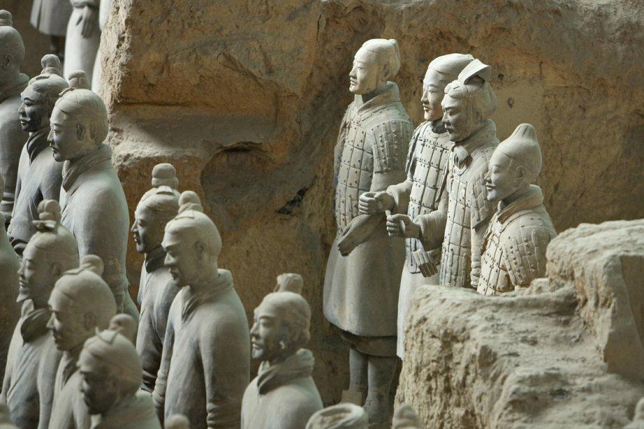 La petite ville de Lintong, près de Xi'an,... (Photo: Alain Roberge, La Presse)