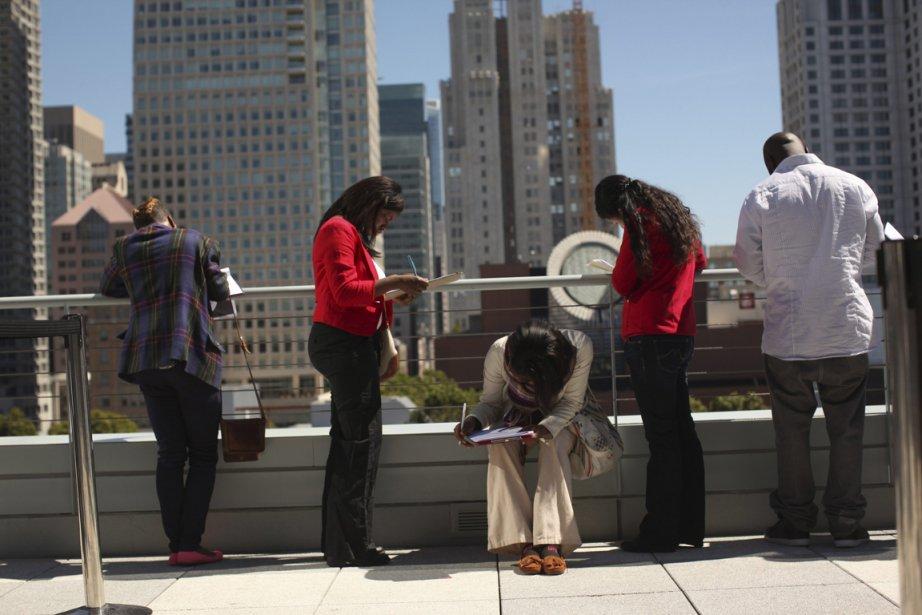 Les gains dans l'emploi ont ralenti ces derniers... (PHOTO ROBERT GALBRAITH, REUTERS)