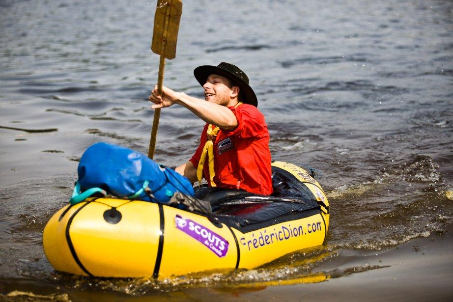 L'aventurier Frédéric Dion a réussi à retrouver le chemin de... | 2012-08-17 00:00:00.000