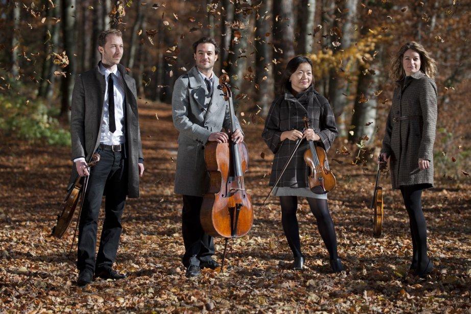 Le Quatuor Galatea, de Suisse.... (Photo: site internet du Quatuor Galatea)