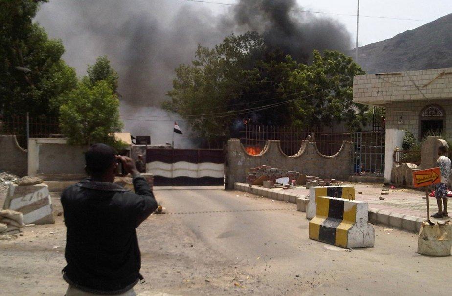 Violences dans la ville de Aden, au Yémen.... (Photo: Reuters)