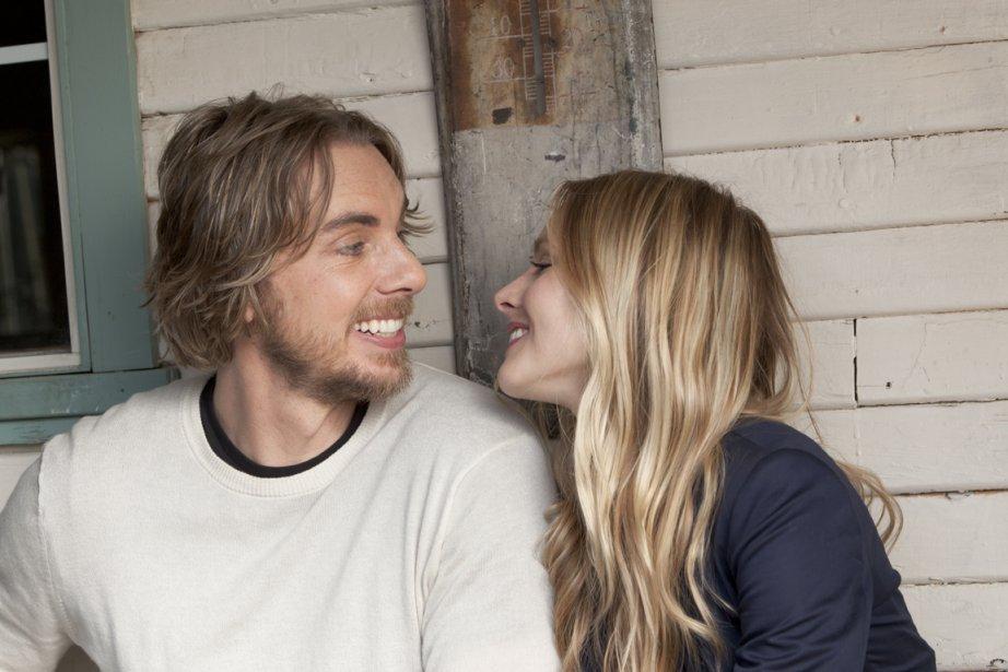 Dax Shepard et sa compagne Kristen Bell ont... (PHOTO FOURNIE PAR OPEN ROAD/ALLIANCE)