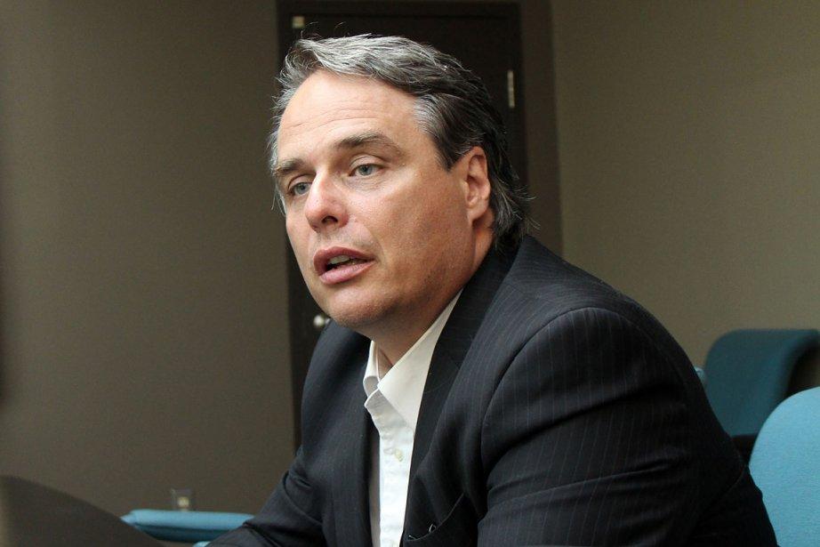 Luc Harvey, chef du Parti conservateur du Québec... (Photo: Janick Marois, La Voix de l'Est)