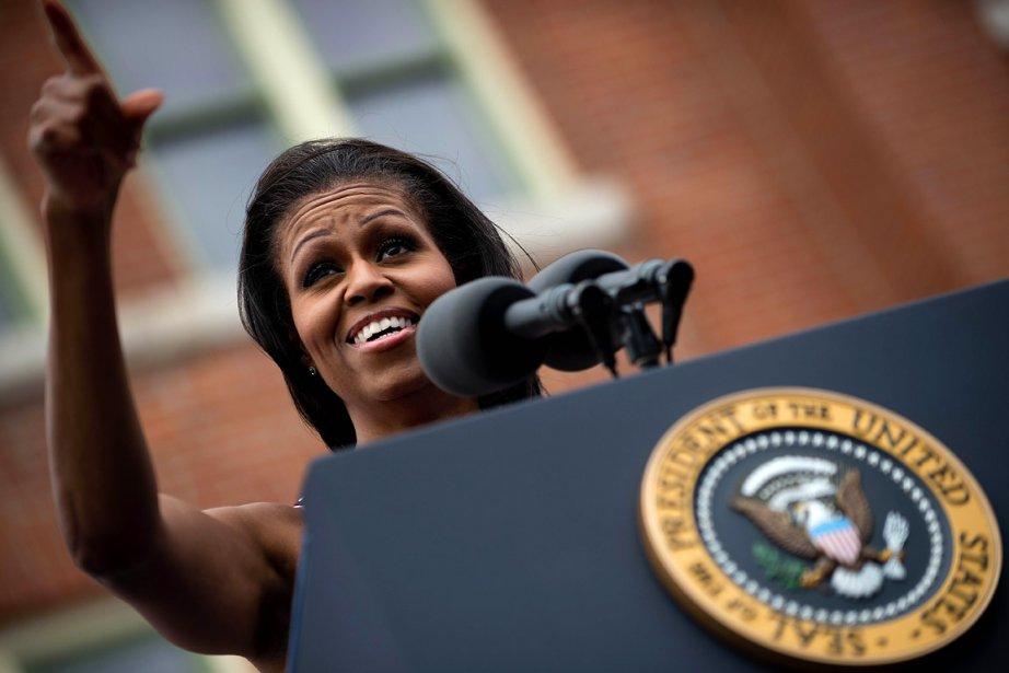 Mais la première dame, jadis peu encline à... (Photo: AFP)